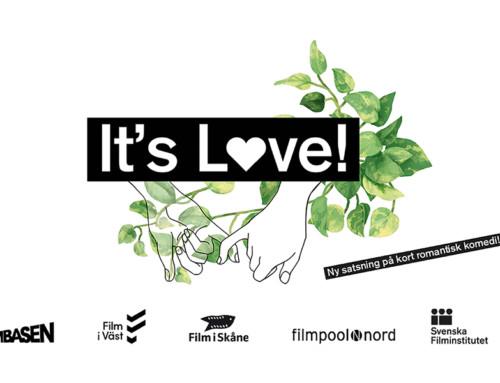Film i Väst satsar på kärleken – It's Love!