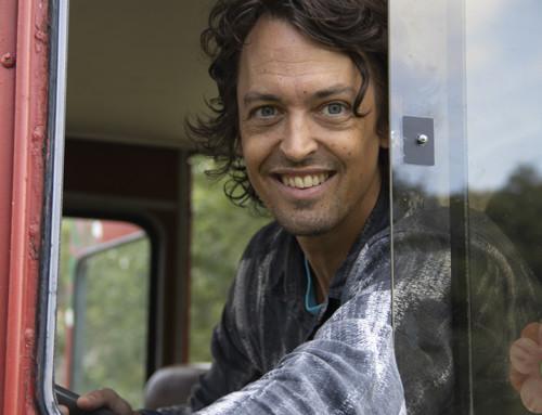 Start för Johannes Nyholms biobussturné med Koko-di Koko-da