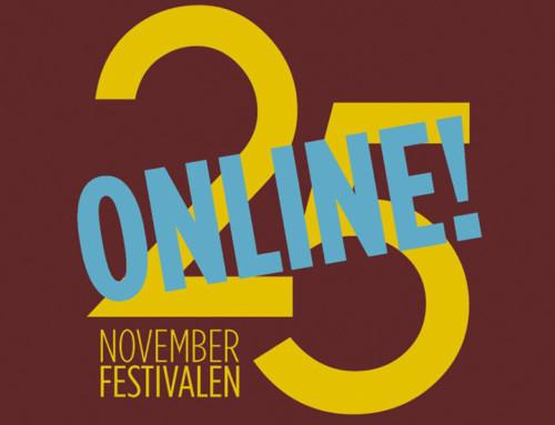 I dag invigs Novemberfestivalen i Trollhättan – On-line
