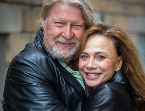 Lena Olin och Rolf Lassgård möts för första gången i Andra akten